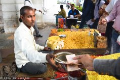 Street food: City is full of street hawkers and lovers of street food who flood-in everyday to taste such delicious and intriguing road-side food. Delhi is famous for, and loves, its markets which are full of these hawkers selling more than hundreds of flavors of spices!